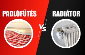 IngatlanRevü - Padlófűtés vagy radiátor